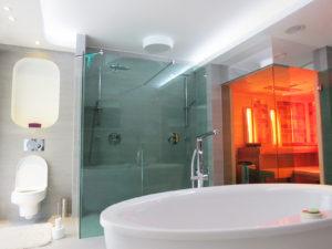 Egyedi zuhanykabin és szauna