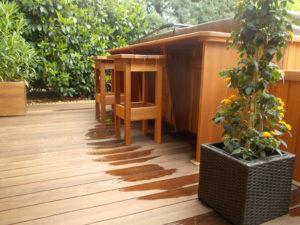 Kerti bútorok egyedi kialakításban