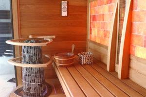 Egyedi építésű kombi szauna